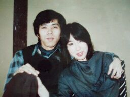 2010直美・新婚時代自宅で