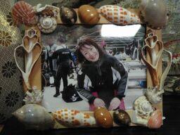 2010直美・貝殻細工写真