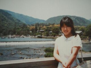 2010直美・嵐山渡月橋直美