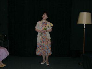 2010直美・芝居ガラスの動物園熱演