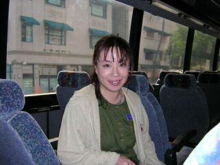 2010直美・ハワイ到着日バス中