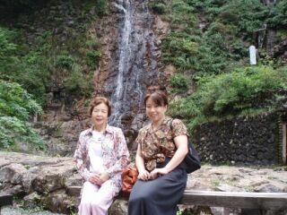 2010直美・生野銀山母と直美2