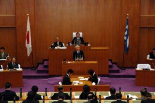 第308回定例県議会開会