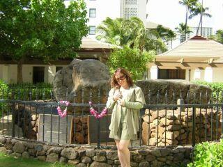 2010直美・ハワイワイキキ花壇