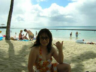 2010直美・ハワイワイキキ水着