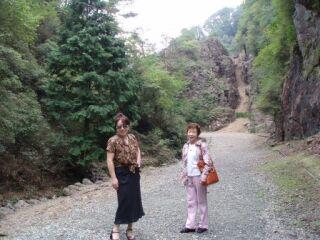 2010直美・生野銀山母と直美3