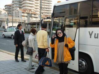 カニツアー出発20090317