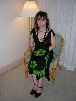 2010直美・ハワイ南国部屋で