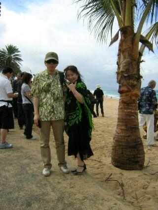 2010直美・ハワイ南国やしの樹