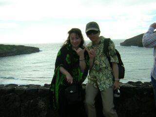2010直美・ハワイ南国海辺