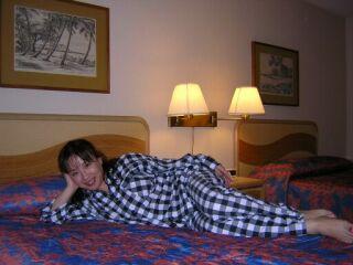 2010直美・ハワイリラックス寝そべって