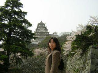姫路城見返り直ちゃん