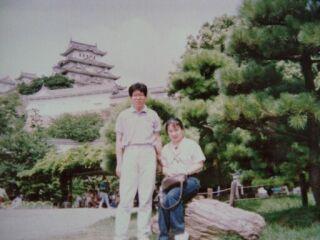 2010直美・姫路城の二人