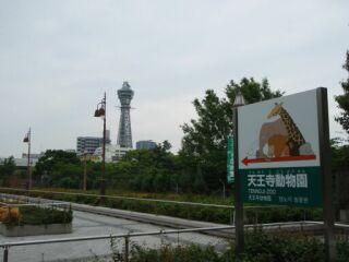 大阪市立美術館通天閣
