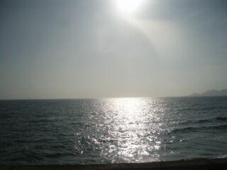 20110719名護の海の夕日