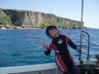 20071022直ちゃん笑顔ウェットスーツ