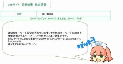 SEOカルテプラン(サイトみるよちゃん)