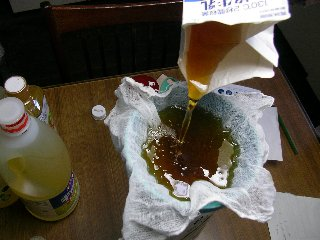 ペットボトル廃油手作り石けん11