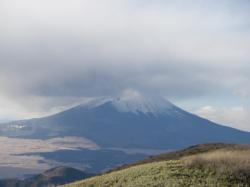 駒ケ岳より富士山