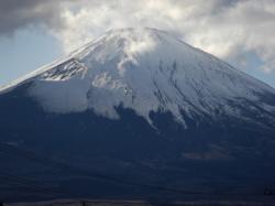 御殿場より富士山