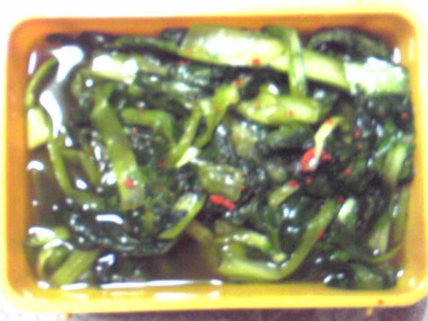 小松菜水キムチ
