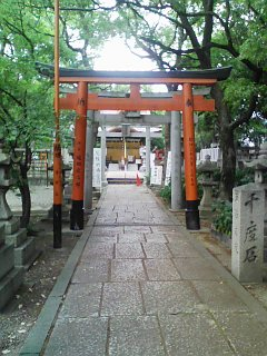 葛の葉神社・境内
