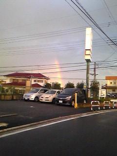 7月27日(月)14 虹