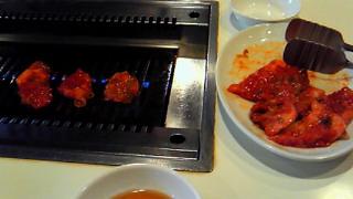 冷麺と焼き肉