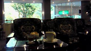 須賀川のホテルのラウンジ