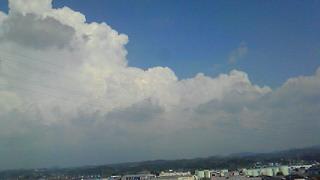 2010夏空と雲
