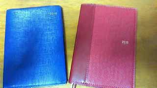 新しい手帳2011