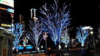 郡山駅前イルミネーション2010