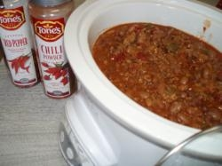 09 03-20 Chili in SlowCooker