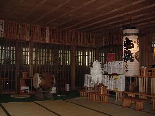 旧拝殿中1