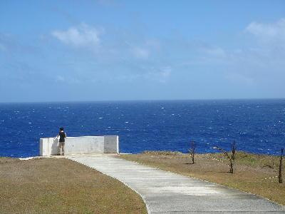 テニアン島スーサイドクリフ2
