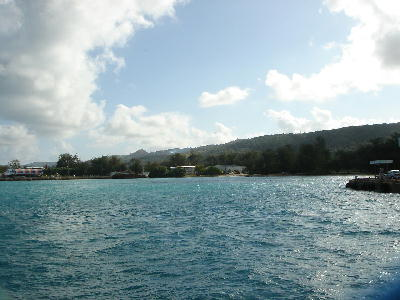 テニアンの海