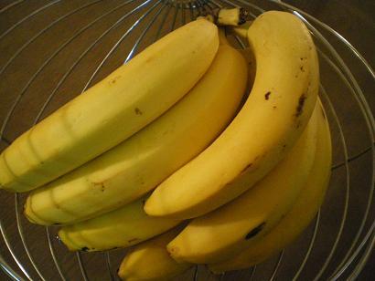 品薄のバナナ