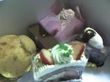念願のケーキ達