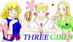 三人娘・集合