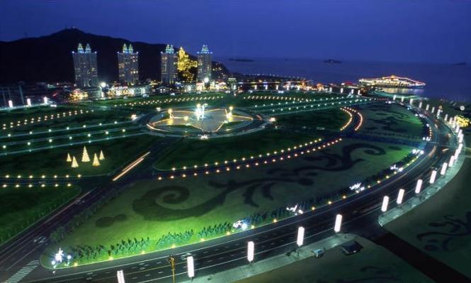 星海広場夜景