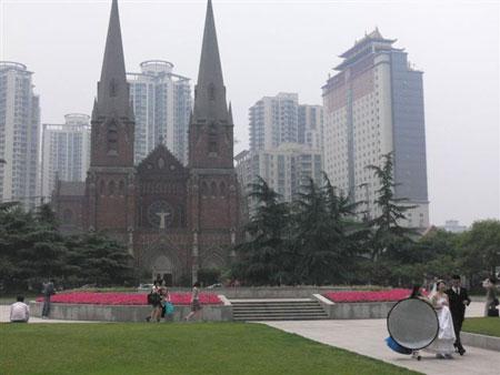 留学通信3号目:徐家hui教会