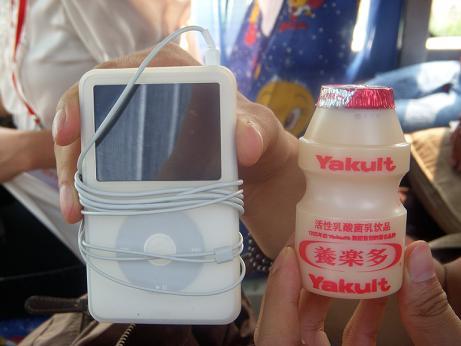 ipodとヤクルト