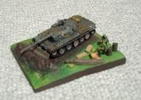 74式戦車 ドーザーブレード付