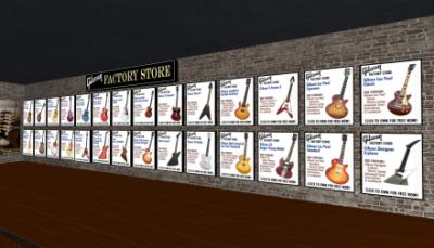 ギターがいっぱい