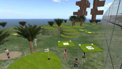 新ゴルフコース
