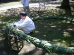 茅の輪作製