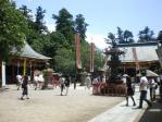 鹽竈神社 ←左右宮 →別宮