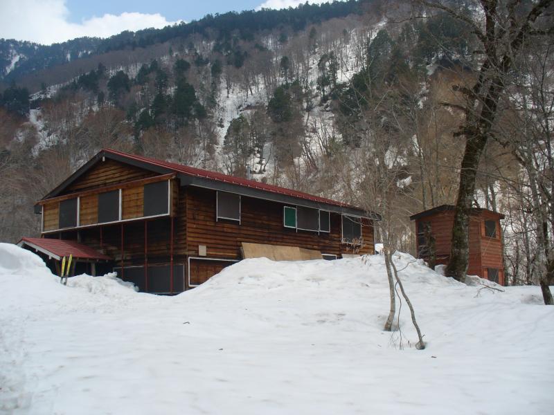 ワサビ平小屋