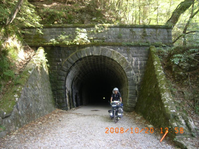 踊り子も通った旧天城トンネル