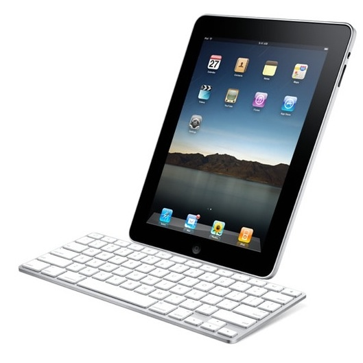 iPad with dock